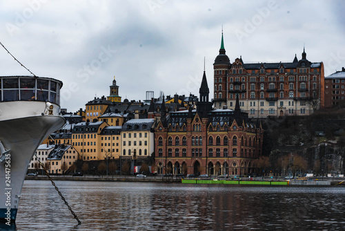 Stockholm Blick auf Mariahissen