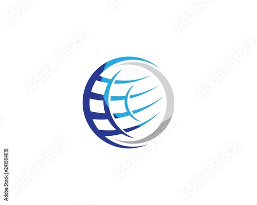 Global vector icon illustration design