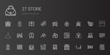 store icons set - 241520612