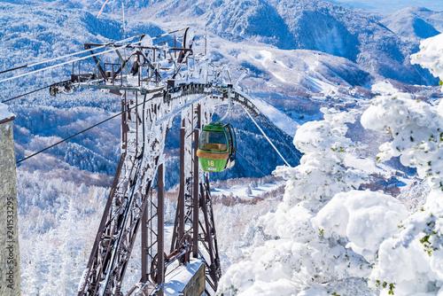 mata magnetyczna 風景物語(志賀高原の冬)