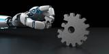 Robot Hand Gear Wheel Puzzle