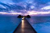 Island Angaga Atoll for relaxation in the Indian Ocean. Maldives - 241545471