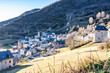 Leinwandbild Motiv Landscape of the village of Gistain. Pyrenees. Huesca. Spain