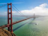 Bridge Golden Gate at San Francisco