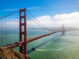 Fototapeta Fototapety pomosty - Bridge Golden Gate at San Francisco © Anton Gvozdikov