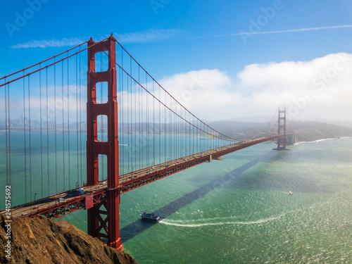 Wall mural Bridge Golden Gate at San Francisco