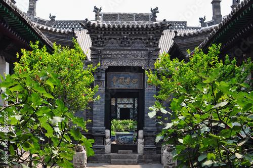 cortile di antica casa cinese