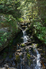 Small waterfall in the valley of Aran, Lleida