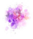 Watercolor paint splash - 241607660