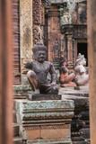 Hindu statue in Siem Reap Park, Cambodia