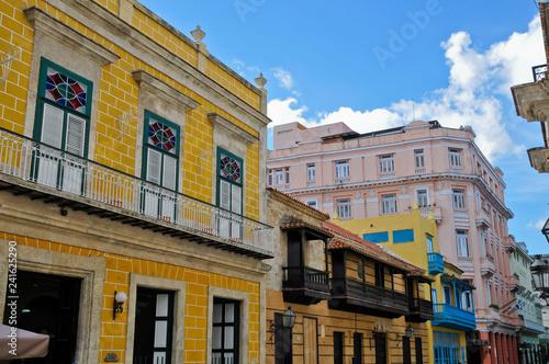 obraz PCV Calle Obispo, Havanna, Kuba