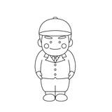 男性キャラクター乗馬 - 241663692