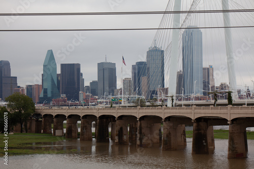 Leinwanddruck Bild Downtown Dallas