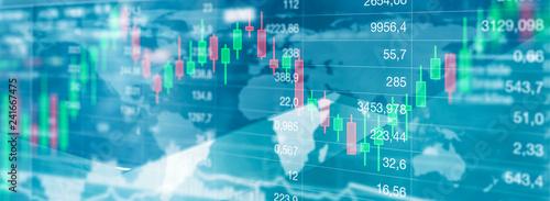 Aktien handel - Finanzmarkt - 241667475