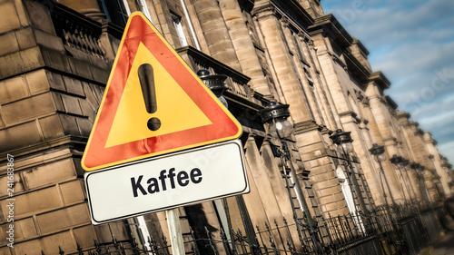 Schild 385 - Kaffee - 241683867