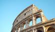Quadro Colosseum or Coliseum in rome, also known as the Flavian Amphitheatre -Italy