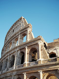 Colosseum or Coliseum in rome, also known as the Flavian Amphitheatre -Italy