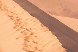 Red sand dunes in Namibia - 241694462
