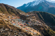 Mountain village in the Himalayas - 241704686