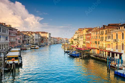 obraz PCV Grand Canal in Venice, Italy