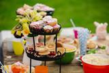 Garden Party Food - 241735690