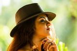 Girl Posing outdoor - 241740878
