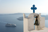 church in santorini greece - 241742230