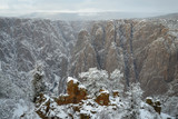 Black Canyon Snow
