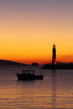 Seaside town of Turgutreis and spectacular sunsets - 241758482