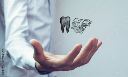 Cost of dental treatment - 241765255