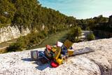 lucchetti sul fiume Tevere - 78v