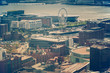Aerial panorama of Liverpool