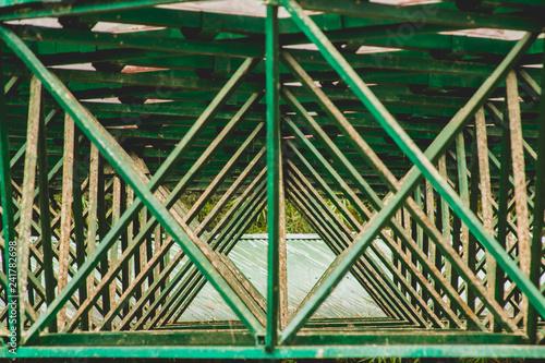 Foto Murales estructura en lineas