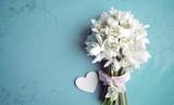 Schneeglöckchen Blumenstrauß - Frühling Blumen
