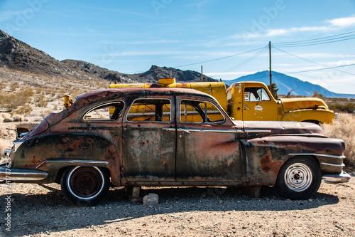 Sedan and Truck