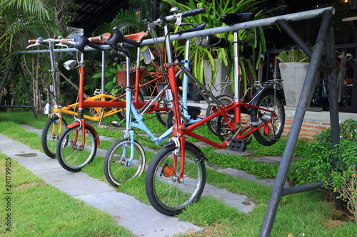 mini colorful bike