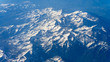 Mountain ranges, view from the plane. Window seat - 241822027