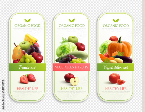 Fruits And Vegetables Organic Labels