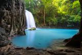 Erawan Waterfall in Thailand is locate in Kanchanaburi Provience. This waterfall is in Erawan national park