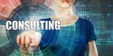 Woman Accessing Consulting - 241870845
