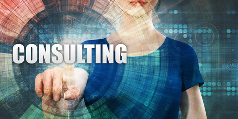 Woman Accessing Consulting