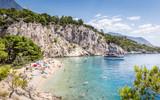 Nugal beach scenery in Croatia - 241879601
