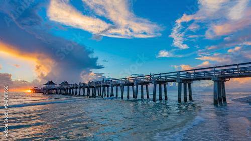 Foto Murales Old Naples Pier, Florida, USA