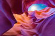 Leinwanddruck Bild - Scenic Canyon Antelope