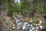 Cascata in alta Montagna Morgex Valle d'Aosta