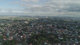 Aerial view Manila city with skyscrapers and buildings. Philippines, Luzon. Aerial skyline of Manila. - 241891296