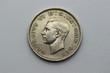 Rückseite der 1 Shilling Münze aus England