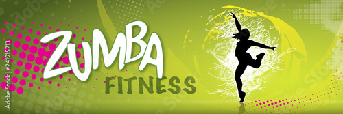 Fototapeten Fitness ZUMBA_FITNESS