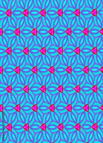 Pattern blue  - 241915823