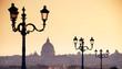 Quadro Rome skyline and Saint Peter Basilica